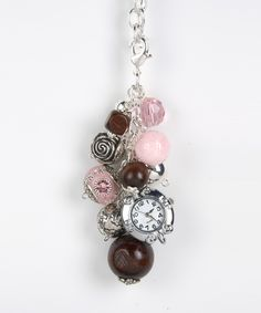 Pink Chocolate Bag Bling - Purse Jewelry #shoplately