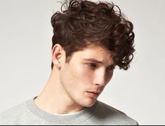 7 Hairstyle Inspirations for Curly Haired Males | Men Hairstyles