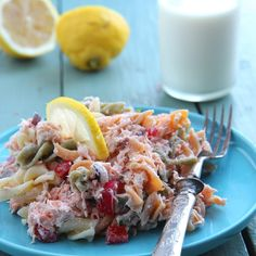 Pasta Salad, Cobb Salad, Feta, Salads, Food And Drink, Ethnic Recipes, Crab Pasta Salad, Salad, Chopped Salads