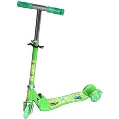 Buy Kids Green design 3 Wheel Scooters for R299.99