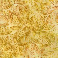 Batik Leaves-K9461-142 Amber