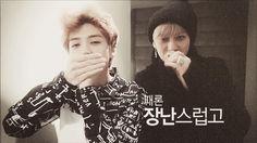 Luhan and Tao