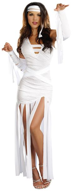 Sexy Mummy Dearest Egyptian Costume - love this (Halloween Disfraz Momia)