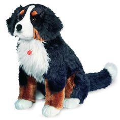 X-LARGE Bernese Sitting Plush Dog