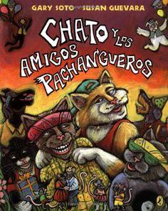 Chato y los amigos pachangueros (Chato (Spanish)) (Spanish Edition) by Gary Soto,http://www.amazon.com/dp/0142400335/ref=cm_sw_r_pi_dp_vb3Vsb0RFPRDWSMP