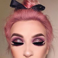 Perfect in Pink and Purple Eye Make up