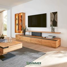 Living Room Wall Units, Living Room Tv Unit Designs, Tv Wall Unit Designs, Tv Stand Ideas For Living Room, Tv Stand Designs, Tv Unit Decor, Tv Decor, Tv Cabinet Design, Modern Tv Cabinet