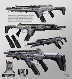 High volumes of data collected from the and internal CPUs indicated that most mechanical failures were due to the rifle frame's exposure to Steampunk Weapons, Sci Fi Weapons, Armor Concept, Weapon Concept Art, Fantasy Weapons, Weapons Guns, Guns And Ammo, Armas Ninja, Future Weapons