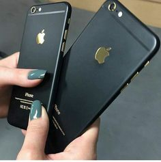 Iphone Black & Gold - Gadgets - #technology #apple