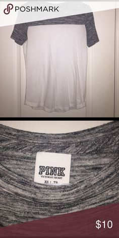 PINK T-Shirt Victoria's Secret T-Shirt, hardly worn. Still in great shape. PINK Victoria's Secret Tops Tees - Short Sleeve