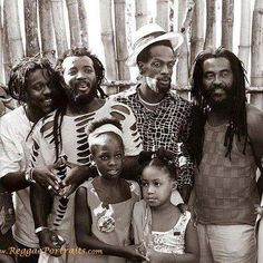 Dennis Brown, Freddie McGregor, Gregory Isaacs & John Holt