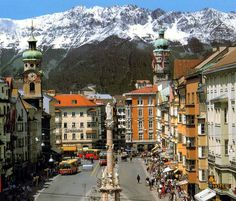 Innsbruck, Austria - miss this place. Take me back to Innsbruck someone. Places Around The World, Oh The Places You'll Go, Places To Travel, Travel Destinations, Places To Visit, Innsbruck, Wonderful Places, Great Places, Beautiful Places