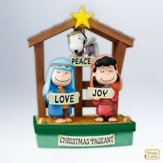 *CHARLIE BROWN, SNOOPY & LUCY ~ Amazon.com: Peanuts Pageant 2012 Hallmark Ornament