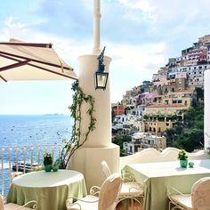 Le Sirenuse hotel, Positano.