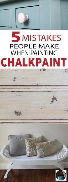 Many DIYers have stumbled on common mistakes when working with chalk paint. Learn from others mistakes so you can get the results you're looking for! Stop by today to get your Annie Sloan Chalk Paint supplies. Make Chalk Paint, Chalk Paint Dresser, Chalk Paint Projects, White Chalk Paint, Chalk Paint Techniques, Chalkboard Paint Furniture, Distressing With Chalk Paint, Chalk Paint Colors Furniture, Milk Paint