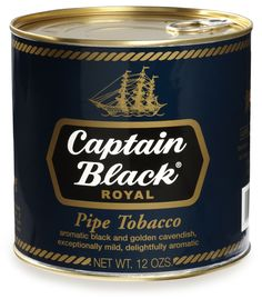 Captain Black Pipe Tobacco Royal Blue - 12 oz. Can
