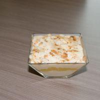 Panna cotta van yoghurt met ananas