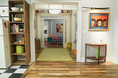 Name: Mindy Lahiri Location: New York, New York Closet Space: Doesn't want to talk about it This bright, playful apartment is home to Mindy Lahiri of Hulu's The Mindy Project, but it's no blah set piece. This season, Dr. Lahiri's spacious 1-bedroom just doubled in size (you watched the Season 4 finale, right?). Packed with stylish details and cool design choices, this apartment is ready for its close-up, and should probably be negotiating for top billing. In case you're wo...