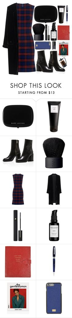 """""""fall dress"""" by themarshmallowmadness ❤ liked on Polyvore featuring Marc Jacobs, Eight & Bob, NARS Cosmetics, 10 Crosby Derek Lam, Jadicted, Lancôme, Root Science, Smythson, Montegrappa and Dolce&Gabbana"""