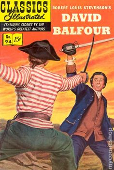 Classics Illustrated 094 David Balfour (1952) comic books