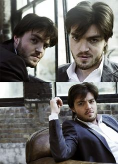 Tom Burke. Not conventionally good looking, but there is just something about him.