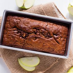 Gluten Free Cinnamon Apple Walnut Bread