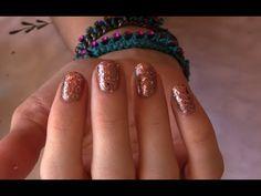 Rose Gold Nail Tutorial  | rebeccakelsey.com