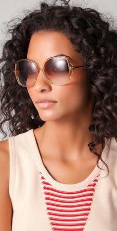 Vintage Gucci '70s Seduction Sunglasses