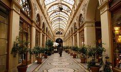 Paris's top 10 hidden shopping passages. Galerie Vivienne in Paris. Photograph by John Brunton