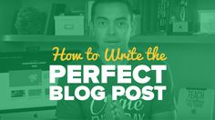 How to Write the Perfect Blog Post – SPI TV Ep. 56