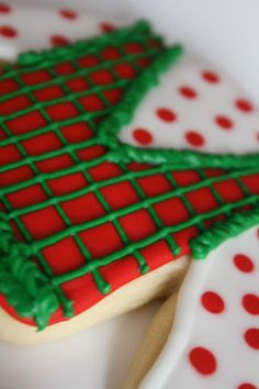 Ugly Christmas Sweater Cookie