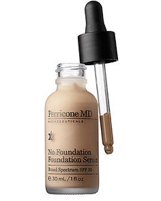 Perricone MD No Foundation Foundation Serum will give you flawless skin in 10 seconds flat.