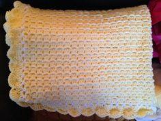 Baby blanket on Etsy, $55.00