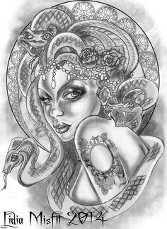 Medusa by MissMisfit13 on DeviantArt