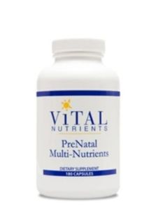 Vital-Nutrients-PreNatal-Multi-Nutrients-180-caps-VNPNM-Exp-6-17-SD