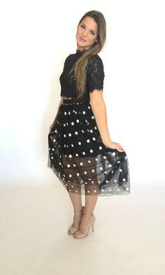 Paris Tulle Skirt