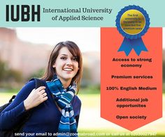 Study with one of the leading University in Germany. Learn more:www.zoomabroad.com