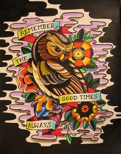 i really like this one... it speaks to the heart... and i love owls.. lil mystic creatures!