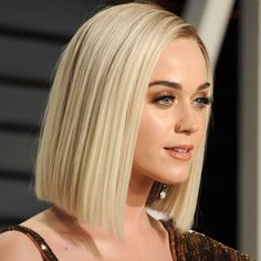 Short Hair Cuts For Round Faces, Katy Perry Photos, Pixie Hairstyles, Updos Hairstyle, Haircuts, Blonde Bobs, Hair Clips, Short Hair Styles, Hair Beauty