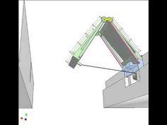 Folding bridge 2 - YouTube