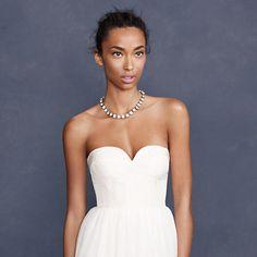 Tulipe bustier gown - gowns - Wedding's Bride - J.Crew