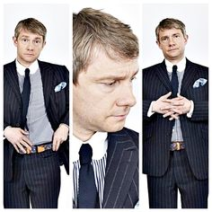 Martin Freeman....you really should have lots of kids and therefore populate the world with your adorableness. :)
