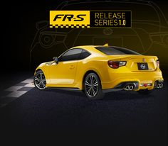FR-S RS 1.0 can't help but make you look twice. An aggressively crafted exterior protects a heart that pumps the blood of over 60 years of racing innovation and modification. 75 available in Canada