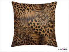 =cmCasa= 2996  Leopard Print Throw Pillow Case/Cushion Cover