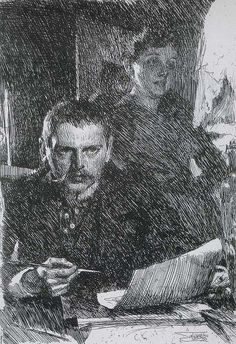 Anders Zorn & Wife 1899