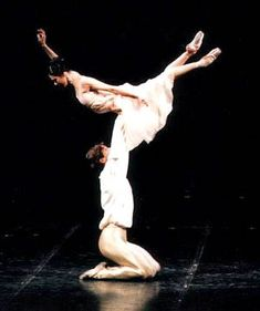 The most beautiful ballet dancer of all time: Alessandra Ferri (w/Wayne Eagling in Romeo and Juliet)