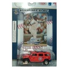 Chicago Cubs Sammy Sosa 2004 MLB Diecast Hummer H2 with Fleer Ultra Card by Fleer Collectibles  $6.99