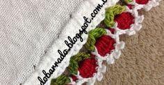 OFICINA DO BARRADO: Crochê - Variando o Barradinho ...