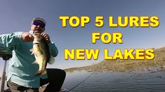 How to fish a new lake for bass in Spring and the top 5 lures that work! Where to find Spring bass, what baits to throw, and how to catch bass in Spring. Finding fish on new lakes in Spring. Bass Fishing Videos, Bait, Lakes, News, Spring, Top, Ponds, Crop Shirt, Shirts