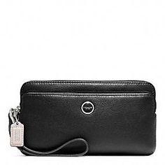 Coach wristlet wallet, love it